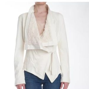 GIORGIO BRATO leather jacket with silk lace lining